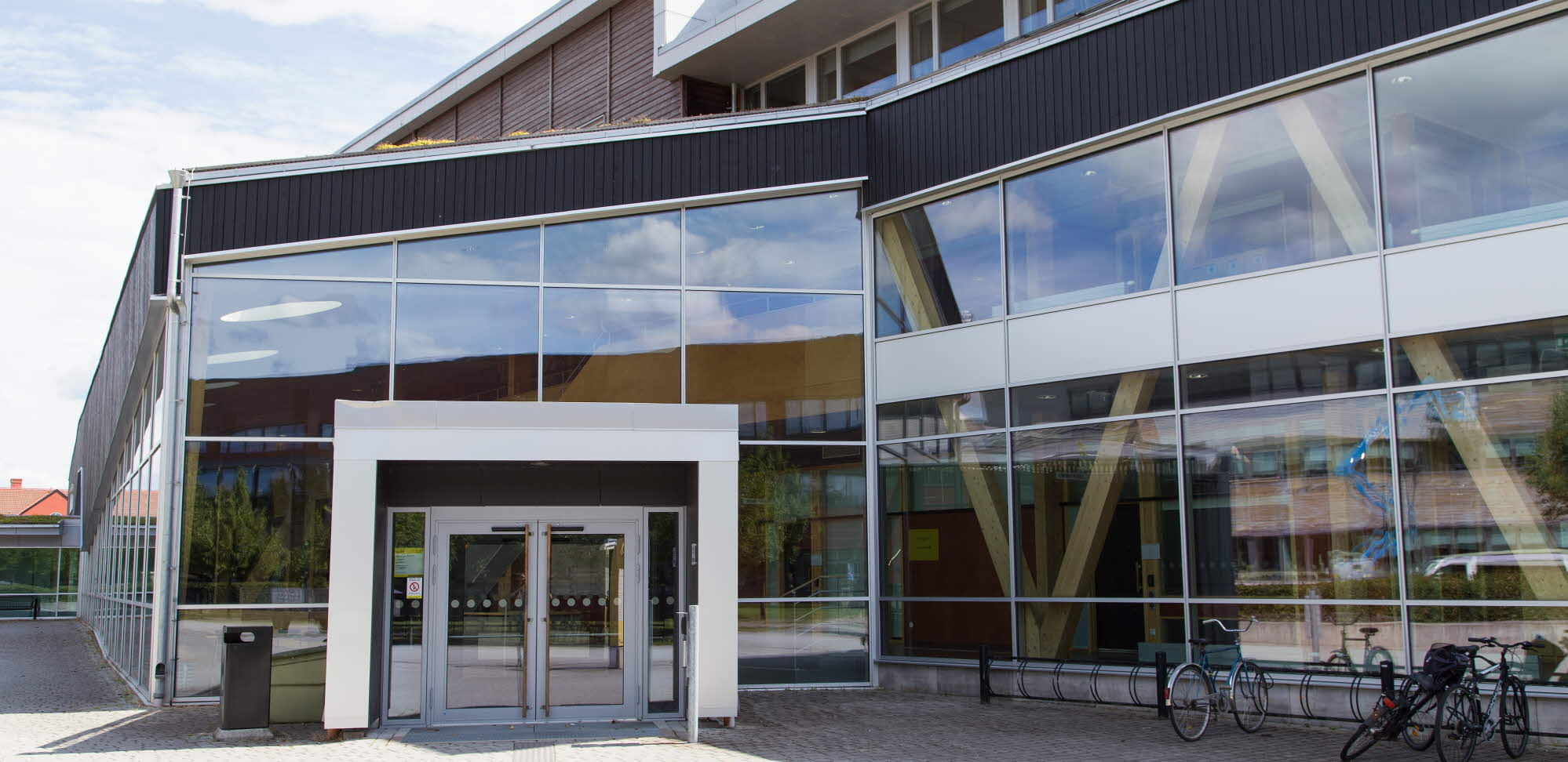 Building N at the Växjö campus