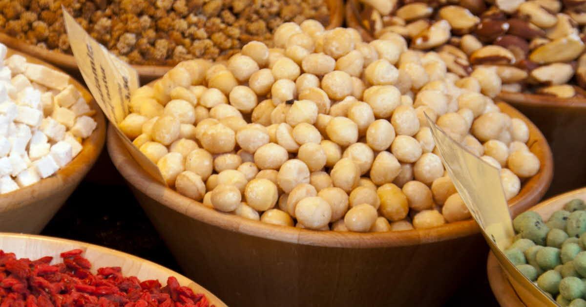 Dry Nuts Hd Free Image: Nya Klimatsmarta Livsmedel Där Bönan är I Fokus