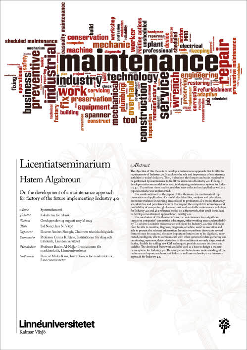 importance of maintenance in industry