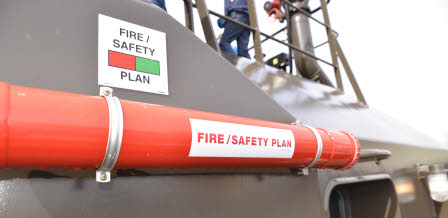 FIRE/SAFETY PLAN