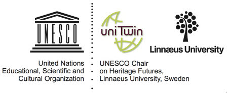 Logotype of the UNESCO Chair on Heritage Futures