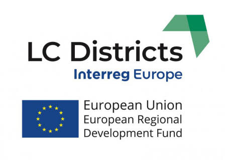 logotypes for LC Districts and the EU