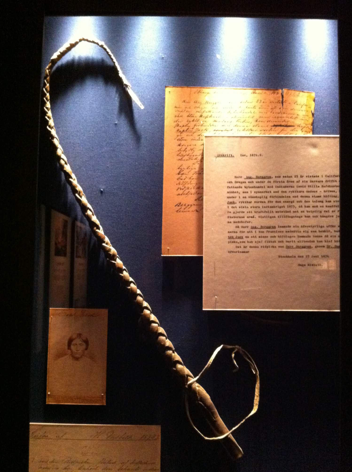 Picture of a riding whip